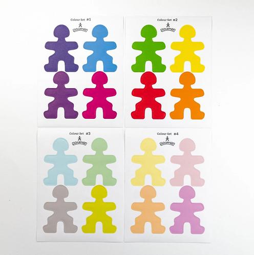 Flockmen | Color Sticker Set