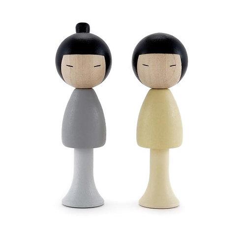 CLiCQUES | Yuma & Ren (KOKESHI Inspired)