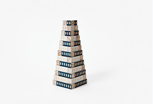 Blockitecture | Tower (blue)