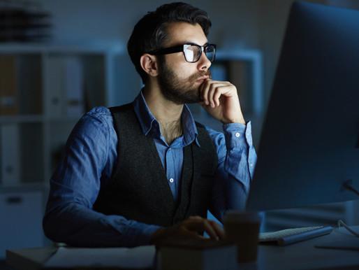 Vplyv modrého svetla na spánok