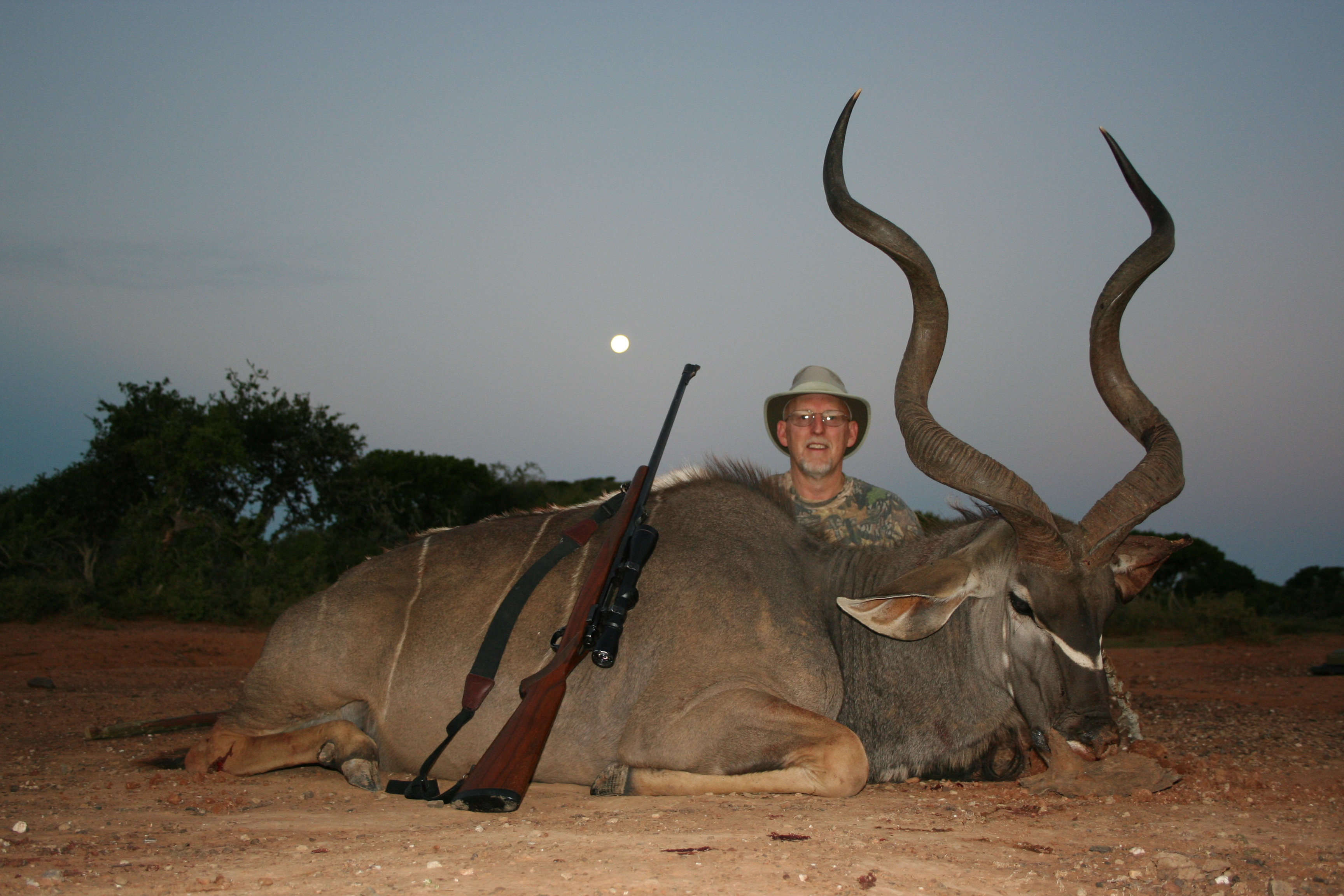 East Cape Kudu Brad Rauch #76 in SCI
