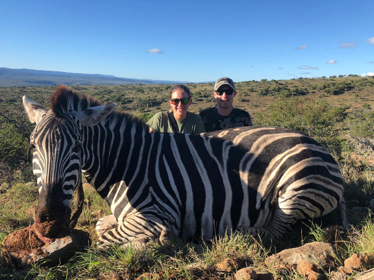 Dan and Katie Jones Zebra 2019