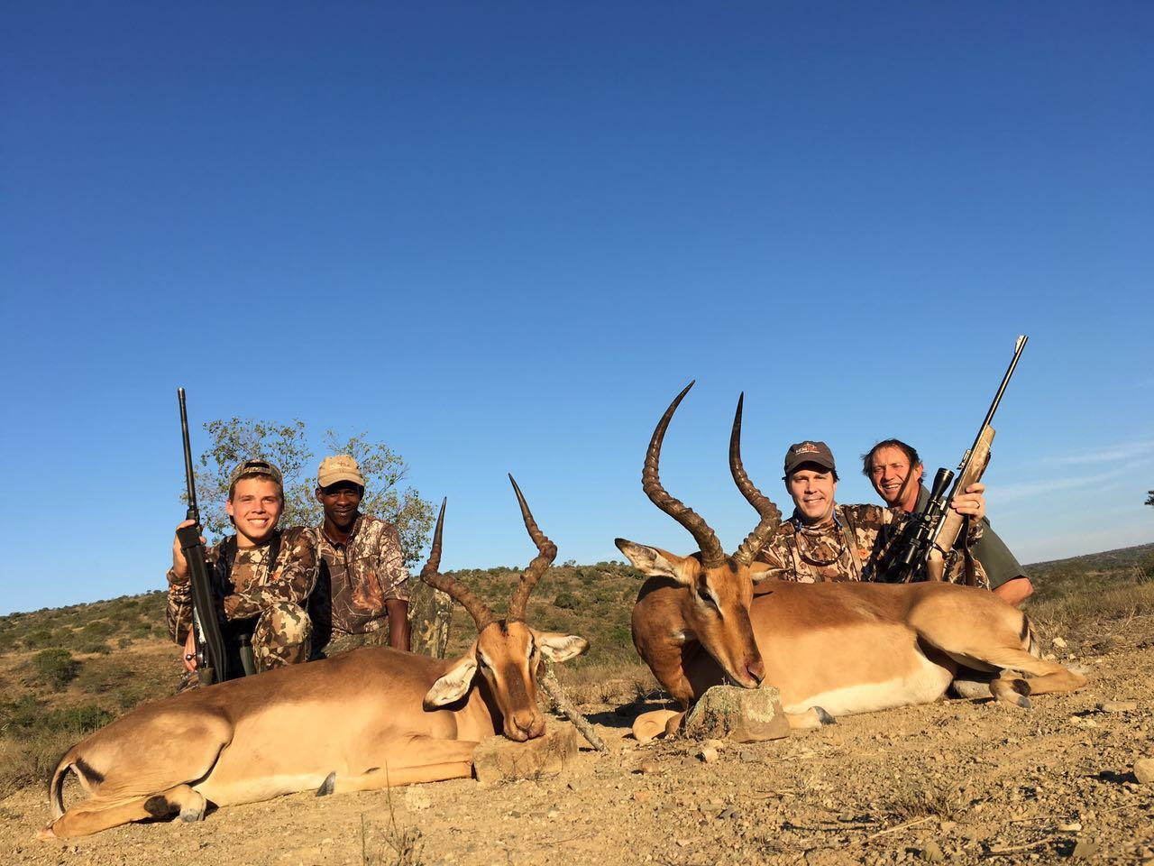 Brian and Chase Watson Impalas 2016
