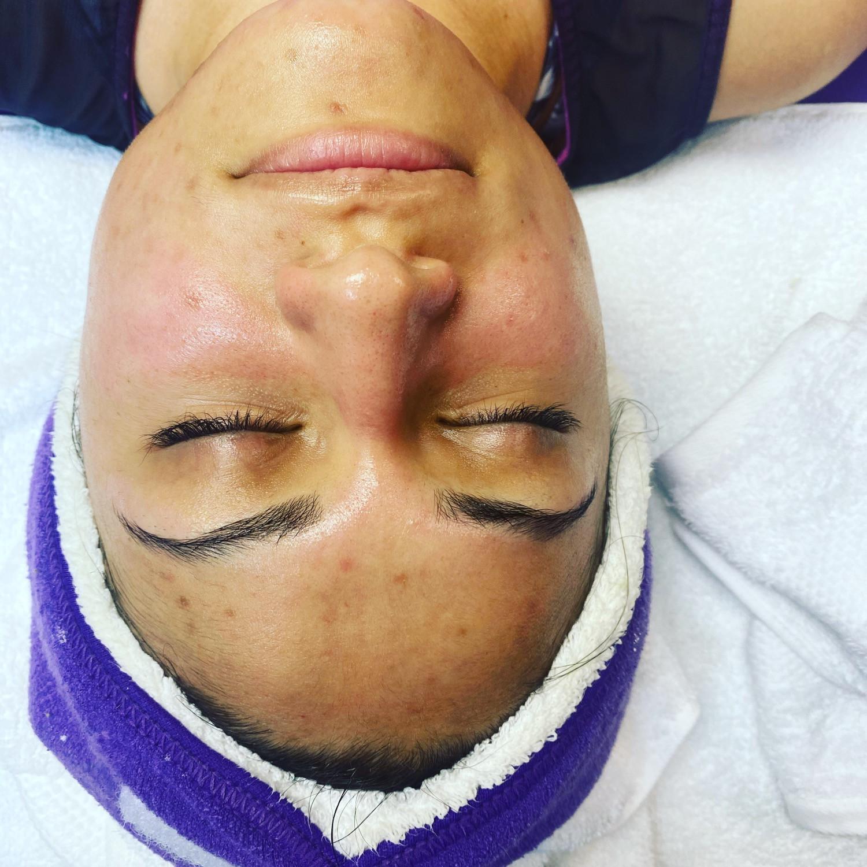 Facial/lash extensions (full)