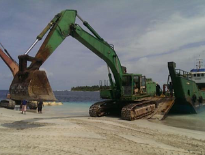 Maldives harbour contractor