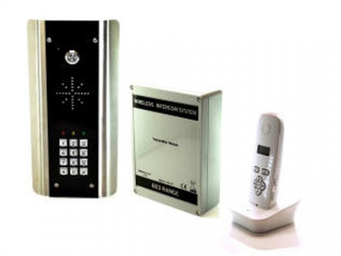 AES 603-ABK  Wireless DECT Intercom with Keypad