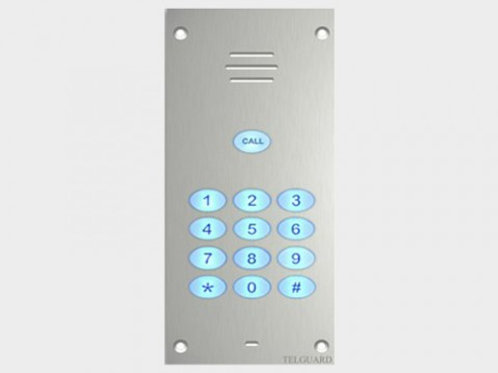 Telguard T-Bespoke 1 Way GSM intercom with keypad