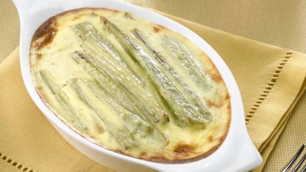 Gratin de cardon, béchamel et parmesan (4 pers.)