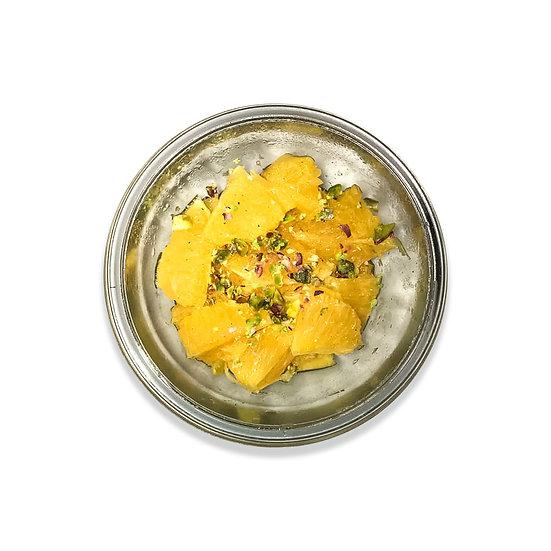 Salade d'oranges aux épices (dont 1€ de consigne)