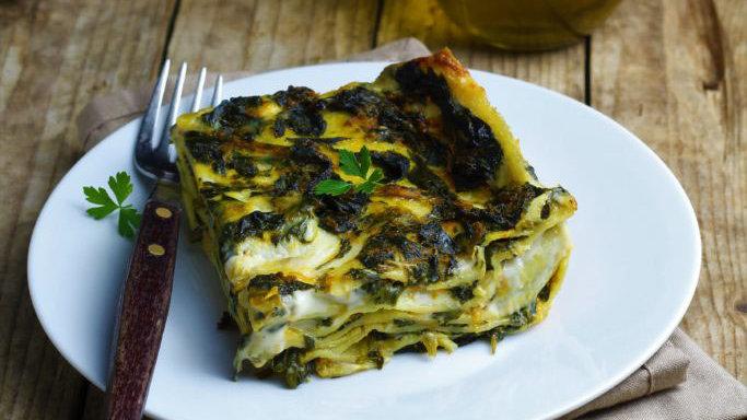 Lasagne à la truite, mascarpone et épinards (2/3 pers.)