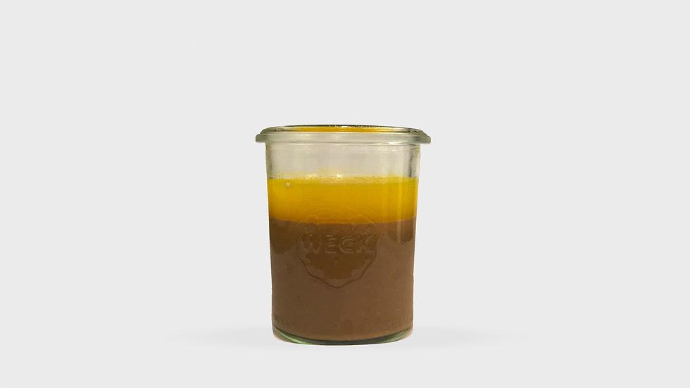 Crémeux chocolat et orange