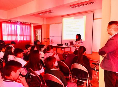 Charla motivacional Educación Ambiental