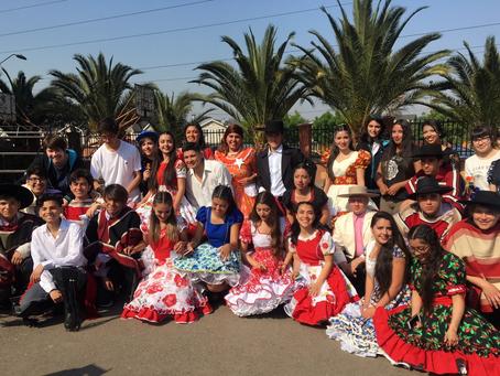 Fiestas Patrias en el San Isaac