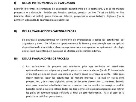 ANEXO DE EVALUACIÓNPRIMER TRIMESTRE DEL AÑO 2021