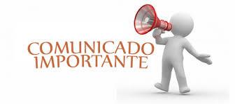 AVISO IMPORTANTE COMUNIDAD SAN ISAAC