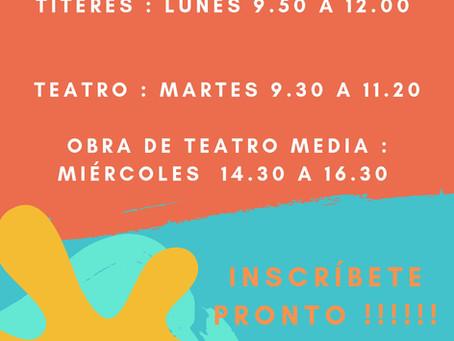 Títeres- Teatro Media y Teatro Básica