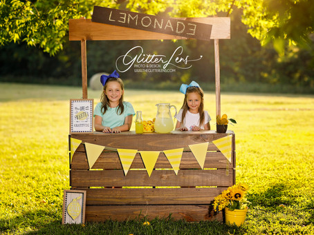 Lemonade Stand | Fisher Farm Park| Davidson, NC