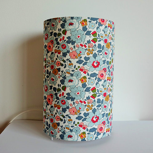 Lampe tube Liberty Betsy porcelaine