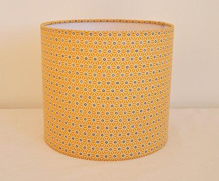 Abat-jour / Suspension saki moutarde diamètre 18 cm