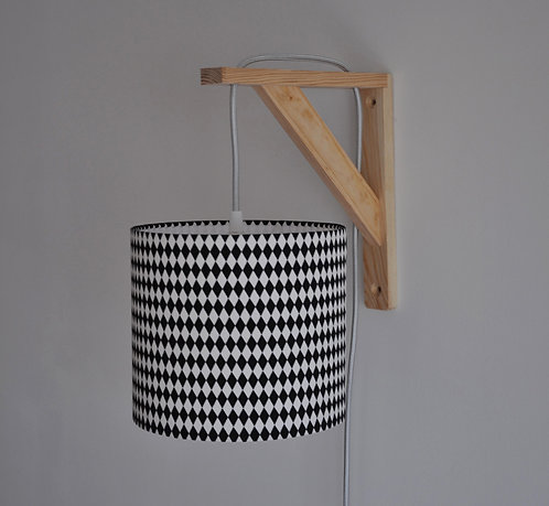 Lampe équerre Noir et blanc