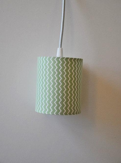 Baladeuse chevron vert