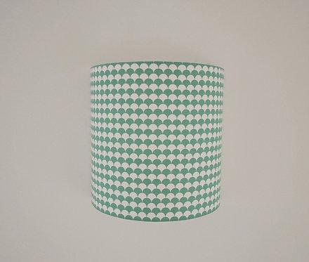 Applique Cube Ecaille vert