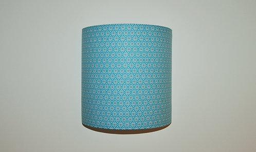 Applique Saki bleu turquoise