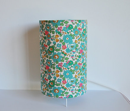 Lampe tube Liberty Betsy menthe