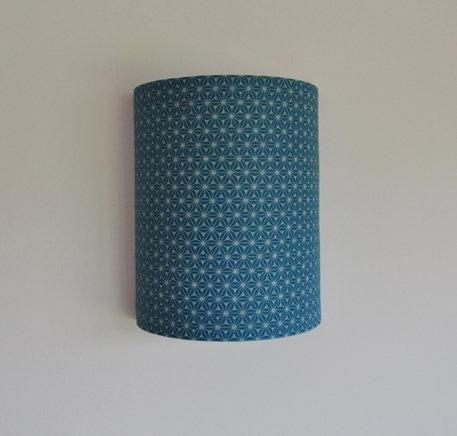Applique fudji vert bleu