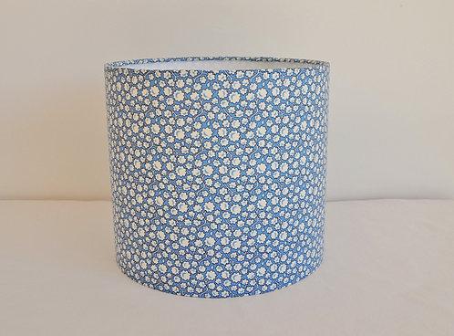 Abat-jour / Suspension Nuage de fleurs bleu