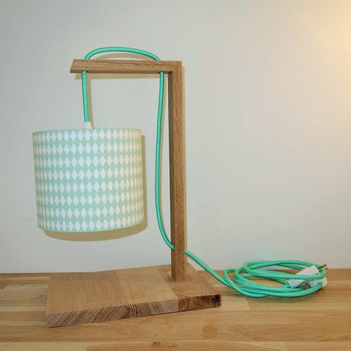 Lampe chêne Amande