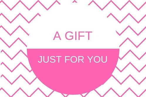 Bon cadeau pour une lampe en chêne