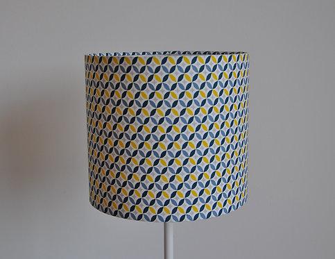 Abat-jour / Suspension Arrondi de losange bleu jaune