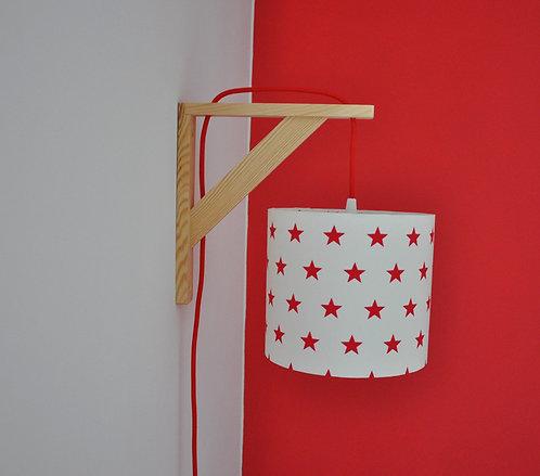 Lampe équerre Etoiles rouges