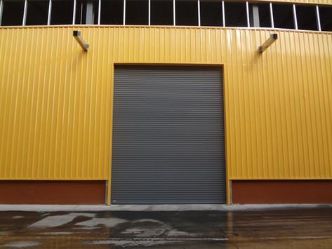 ประตูม้วนขนาดใหญ่ บริษัท จงเช่อ รับเบอร์ (ไทยแลนด์) จำกัด