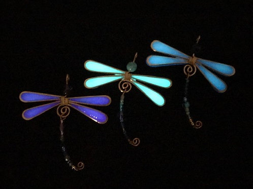 Afterglow Dragonfly pendant