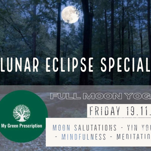 Full Moon Yoga & Mindfulness in the woods with MGP 19/11/21