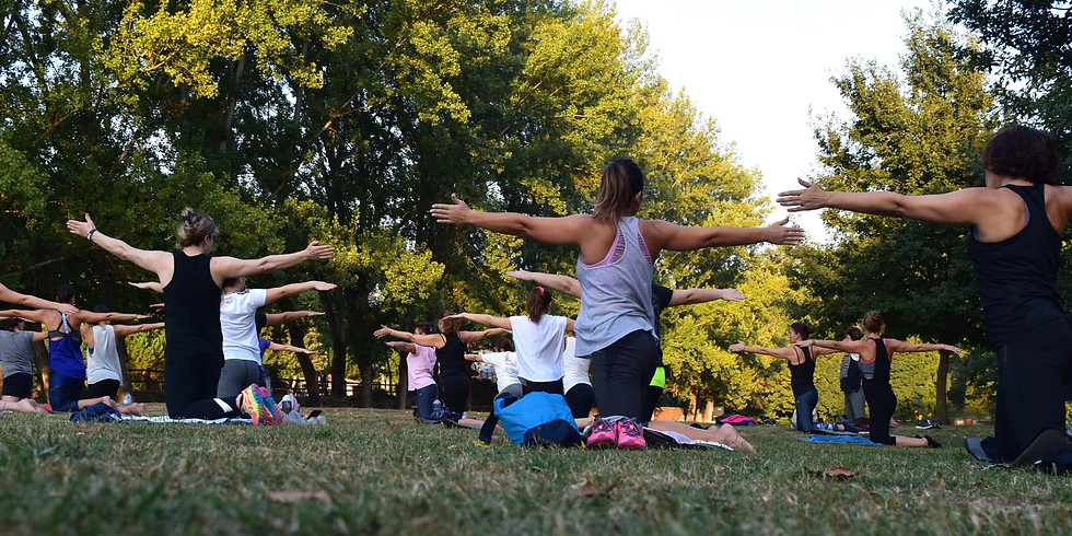 Yoga in the woods (Evening) with MGP