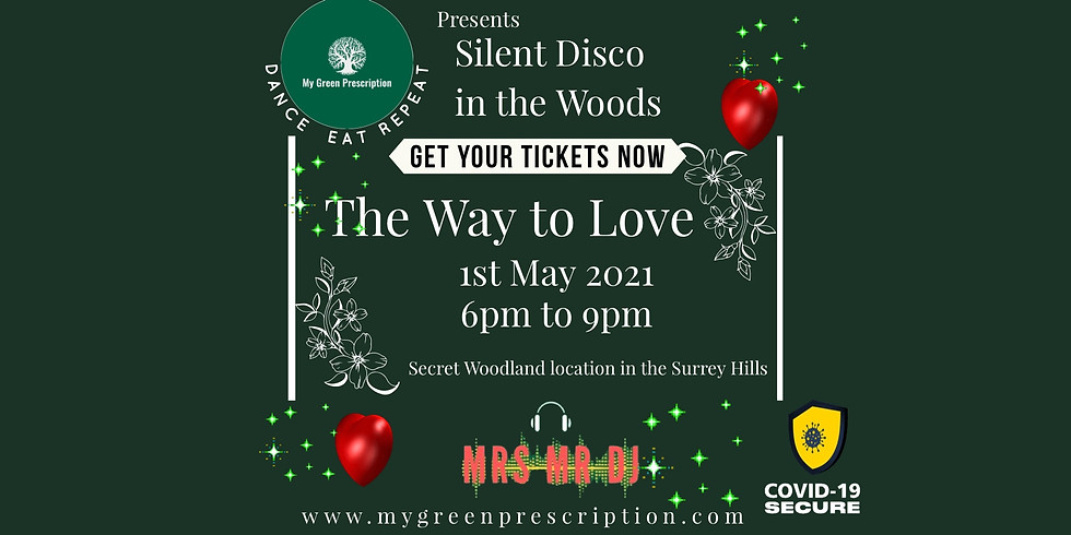 Silent Disco in the woods with MGP & Mrs Mr DJ