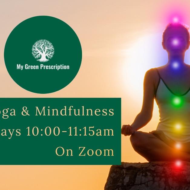 Yin Yoga & Mindfulness on Zoom with MGP