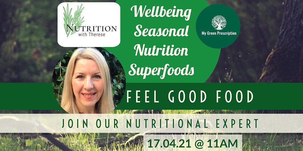 Nutrition for health & wellbeing with Therese Conlon-Barratt DipNT CNM MBant CNHC reg & MGP