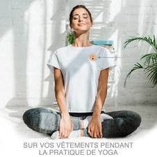 Diffuseur d'huiles essentielles aimanté pour Yoga, masque de sommeil et +
