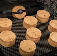 Diffuseurs écologiques d'huiles essentielles en bois de bambou