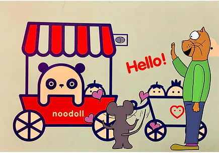 Chubby_Kitten_Meets_Noodoll.JPG