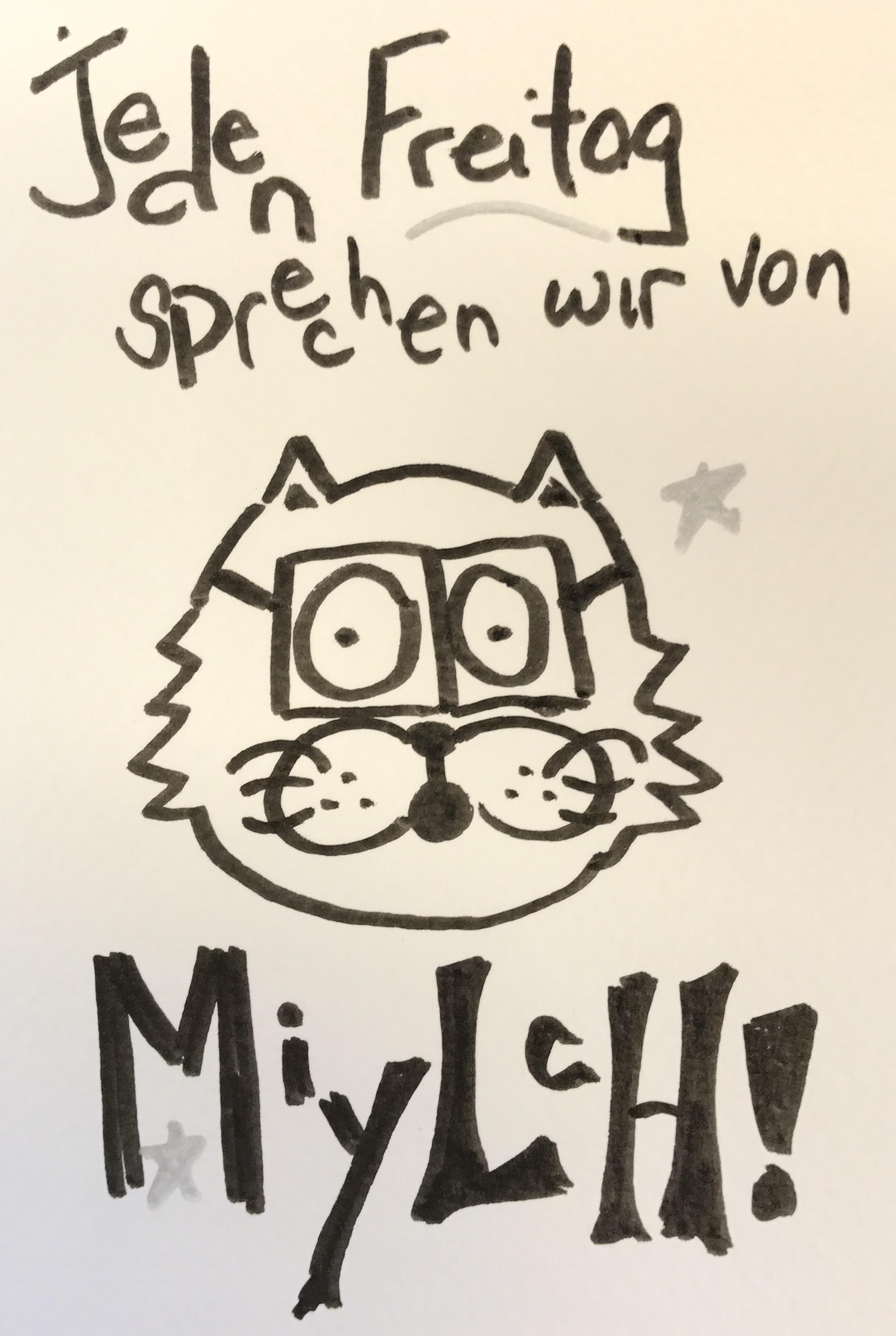 Jeden Freitag sprechen wir von MIYLCH 日本語 日本 描く かわいい コミックス ペン art drawing comic manga cartoon ink ka
