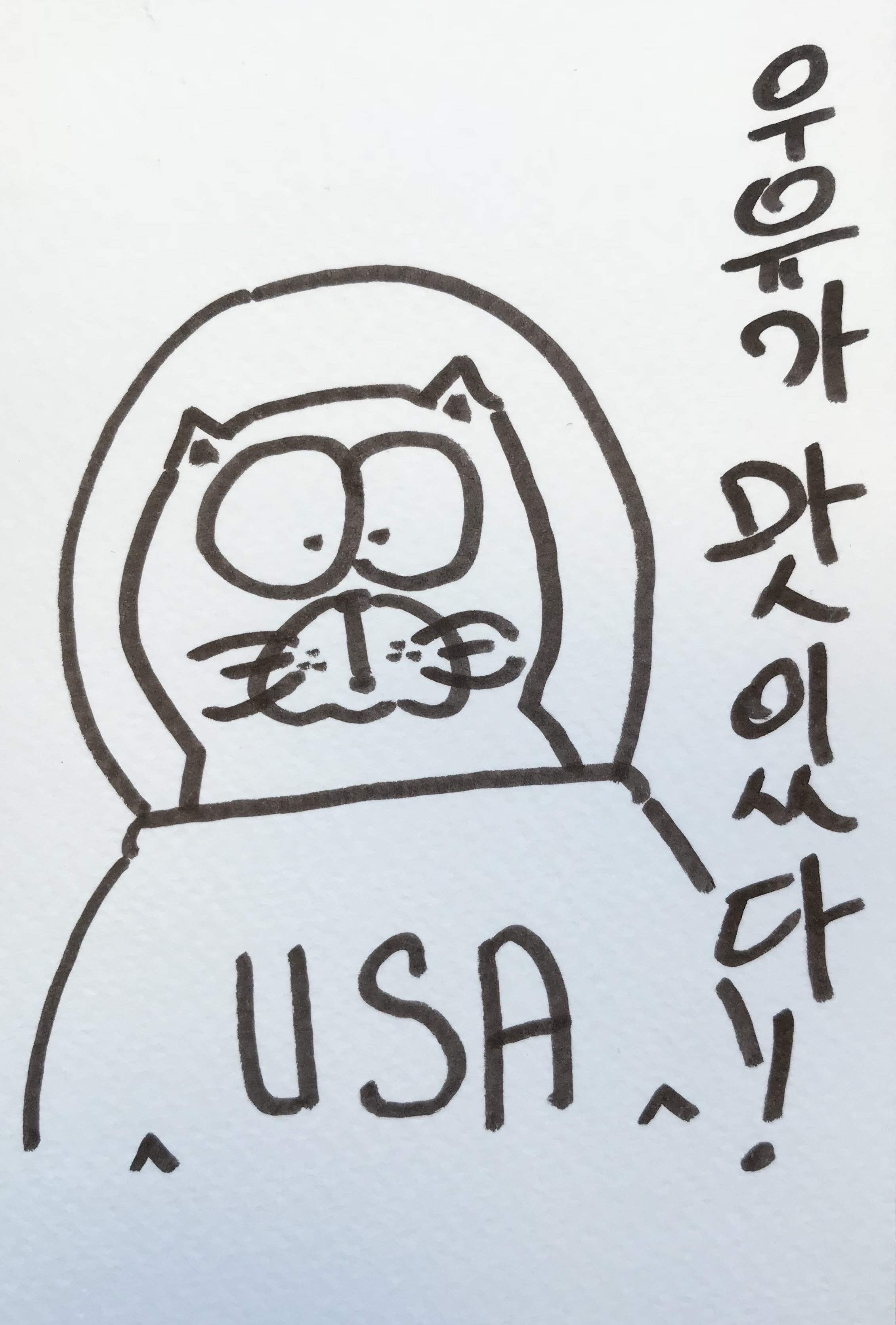 Miylk is Tasty! Korean astronaut