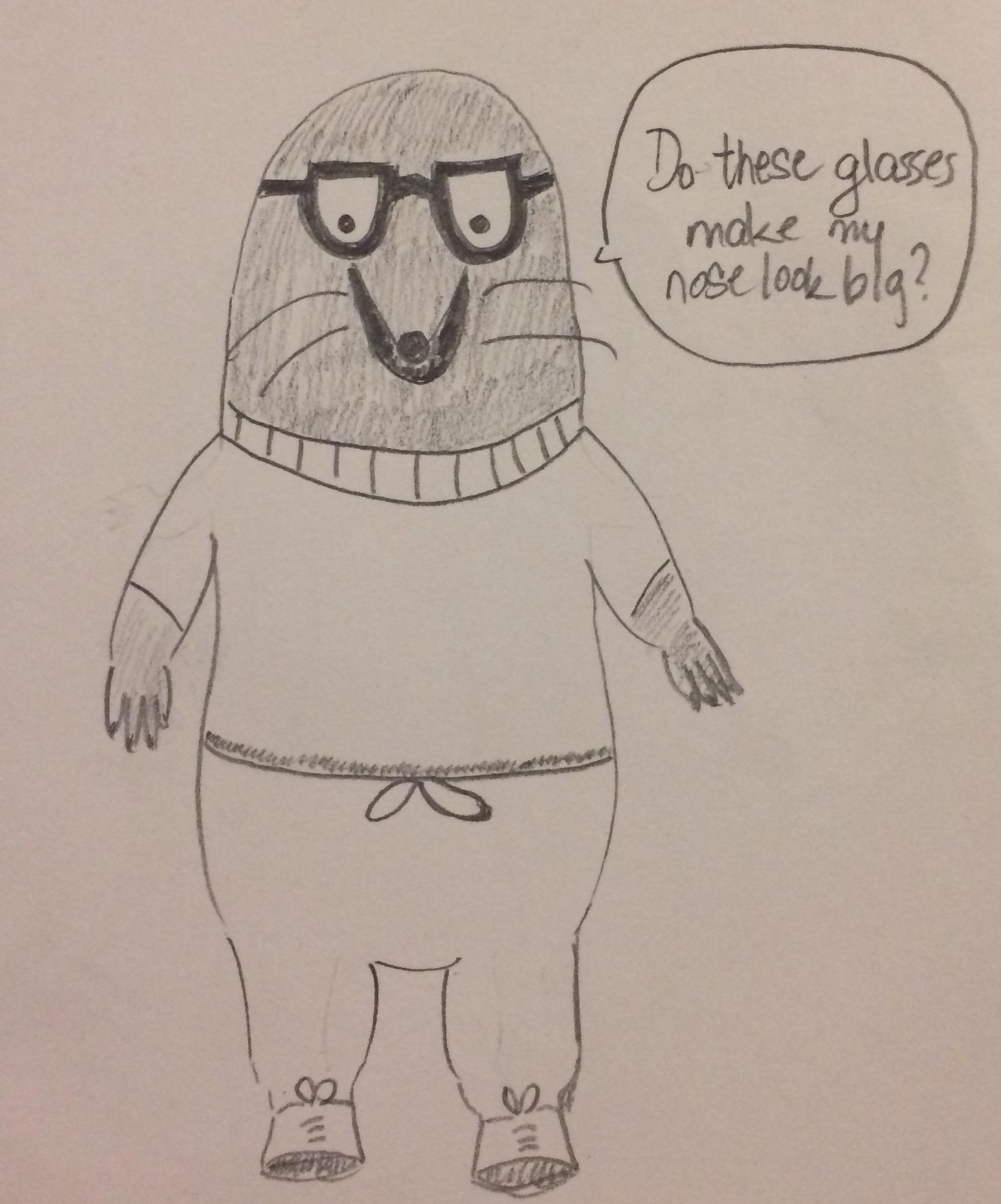 Woody Allen Mole