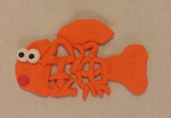 お腹が空いている金魚
