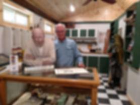 Chris Wood in the Art Neumann Rod Shop.j