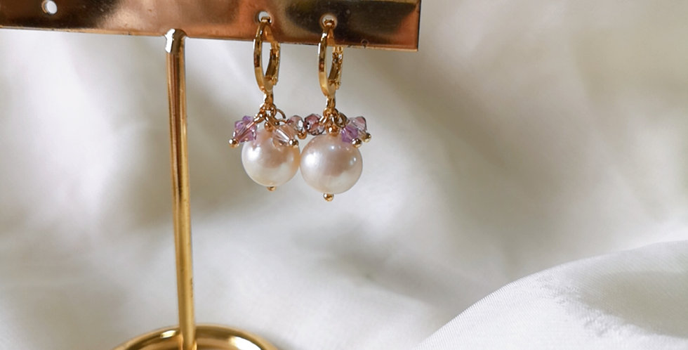 CRYSTAL EARRING: ☾ May : Cuffs - 13 ☾